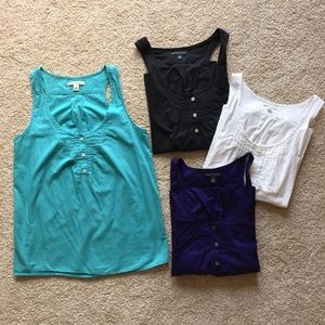 Banana Republic tank top bundle